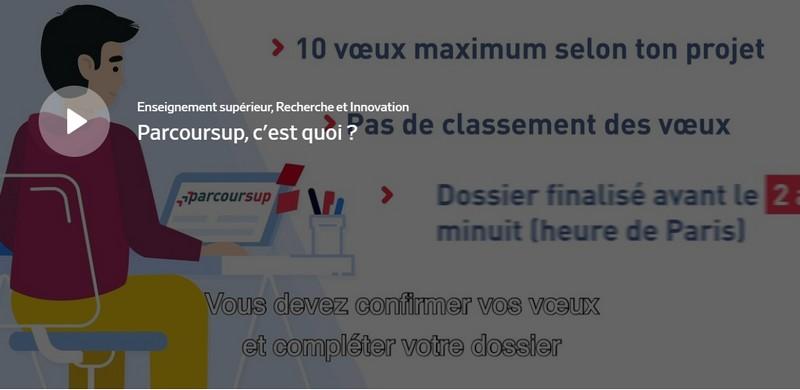 Parcoursup, plateforme nationale de préinscription en première année de l'enseignement supérieur en France